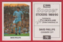 Coventry City David Phillips Wales 72